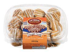 Lofthouse Ginger Snap Mini Crisp Cookies