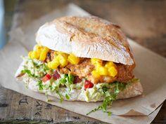 Imbiss-Lieblinge - Rezept-Ideen für zu Hause - chicken-burger  Rezept