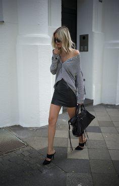 Una camisa a rayas que de un toque distinto a tu estilismo. Flechazos shopping