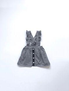 5416e670f6f2 Girls Suspender Skirt - Skirt for Girl - Vintage Style Skirt - Girls Plaid  Skirt - Toddlers Skirts - Childrens Clothing
