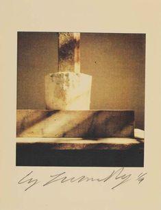 Cy Twombly (American, 1928 - 2011), Sculpture Detail , negative 1998; print about 2000. Color dry print. Image: 17.8 x 16.5 cm (7 x 6 1/2 in.). Sheet: 27.9 x 21.6 cm (11 x 8 1/2 in.)© Fondazione Nicola Del Roscio. Courtesy of Gagosian Gallery.