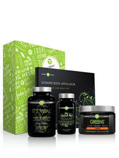 Save $114.00 on this combo pack! One box of wraps, Greens in Orange Flavor, Regular and It's Vital Core Nutrition! All for just $99.00 Loyal Customer price!  http://thebodywrapsystem.myitworks.com/shop/product/452/