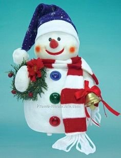 Image detail for -10 Inch Dancing Snowman)