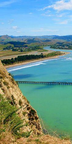 Tolaga Bay Wharf is the longest in the Southern Hemisphere, NZ