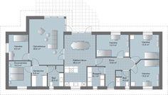 GVN-177. Plantegning hvor soveværelse har stor garderobe