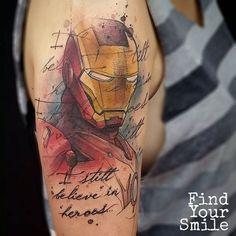 40 Mightiest Marvel Comic Tattoo Designs Marvel Tattoos, Avengers Tattoo, Nerdy Tattoos, Tattoos Skull, Wolf Tattoos, Tattoos For Guys, Sleeve Tattoos, Tatoos, Marvel Tattoo Sleeve