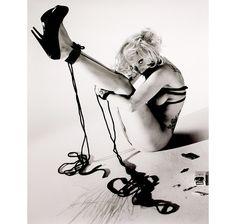 Naked Lady Gaga Enjoys S&M For Vogue Hommes Japan - Marco Simoncelli MotoGP