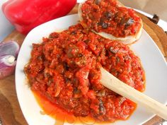 Ratatouille, Meat, Ethnic Recipes, Sauces, Food, Home Canning, Homemade, Canning, Dips