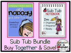 Sub Plans- The Sub T