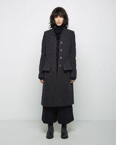 HACHUNG LEE Flecked Wool Coat /la garconne