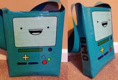 BMO duct tape bag, from Adventure Time