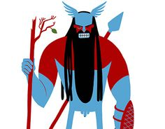 """Check out new work on my @Behance portfolio: """"Nordic Gods"""" http://be.net/gallery/54296765/Nordic-Gods"""