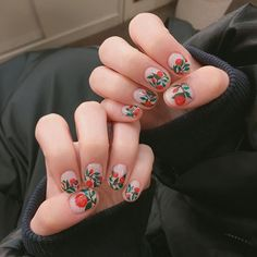 28 CUTE SPRING NAIL ART DESIGNS 2019 What can we say about nail art in spring? When nature itself uses the world around us to paint an exotic and lovely picture using… Nail Art Designs, Nail Designs Spring, Rose Nail Art, Rose Nails, Cute Spring Nails, Spring Nail Art, Get Nails, Hair And Nails, Nail Art Hacks