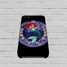 Ariel the Little Mermaid Stained Glass case of iPhone case,Samsung Galaxy #case #phonecase #hardcase #iPhone6case