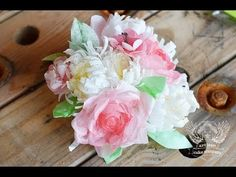 ▶ Sugar Geeks Show Episode 1 - How To Make Wafer Paper Flowers - YouTube
