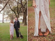 Vintage-Inspired Florida Ranch Wedding: Jenny + Jeff | Green Wedding Shoes Wedding Blog | Wedding Trends for Stylish + Creative Brides