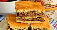 Nuts and Plum Jam Cake recipes - Social Cooking Engine Romanian Desserts, Romanian Food, Jam Cake Recipe, Cake Recipes, Vegan Recipes, Vegan Meals, Plum Jam, Italian Cake, Vegan Cake