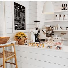 Outpost Florida coffee bar. I want my kitchen to look like this:)