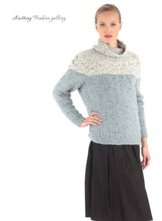 Horizontal Cable Jumper by Jo Allport