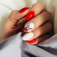 Gotowa na święta! #christmas #nails #winter