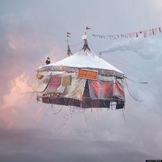 """""""Case volanti"""" in cui vivere, il progetto di Laurent Chehere (FOTO)"""