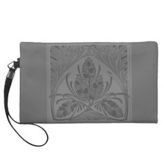 >>>Cheap Price Guarantee          Retro Floral Leaf Charcoal Gray Bagettes Bag Wristlets           Retro Floral Leaf Charcoal Gray Bagettes Bag Wristlets In our offer link above you will seeReview          Retro Floral Leaf Charcoal Gray Bagettes Bag Wristlets Review on the This website by ...Cleck Hot Deals >>> http://www.zazzle.com/retro_floral_leaf_charcoal_gray_bagettes_bag-223354887165984890?rf=238627982471231924&zbar=1&tc=terrest