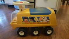 1983 Fisher Price Ride On School Bus #983