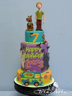 birthday cake scooby-doo cake #scoobydoo #birthdaycake 7th birthday boy's birthday | Blue Note Bakery - Austin, Texas