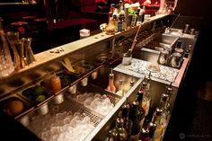 Le Mathis - Cocktails bar layout designed by Agence En Place.