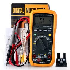 free shipping MS86 Multifunction Digital Multimeter/Auto and Manual Range/Temperature Test/Relative Ammeter Multitester