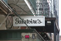 Galatoire's ~ The New Orleans classic for traditional Creole food - a Friday tradition for those in the know