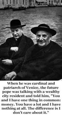 Pope John XXIII is going to formally become a saint on Sunday (27 April 2014). Here is a sample of his humorous quips - Imgur