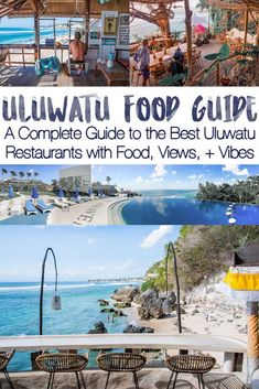 COMPLETE ULUWATU FOOD GUIDE. Best restaurants in Uluwatu with a view, great food, and vibes! After eating my way through all of Uluwatu for a month, here is a foodie's guide to a foodie destination - along with waves, parties, beaches, and views! #uluwatu #bali
