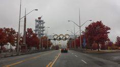 Atlanta Olympic Torch Tower Centennial Olympic Park, Atlanta Olympics, Savannah Chat, Georgia, Tower, Street View, Rook, Building
