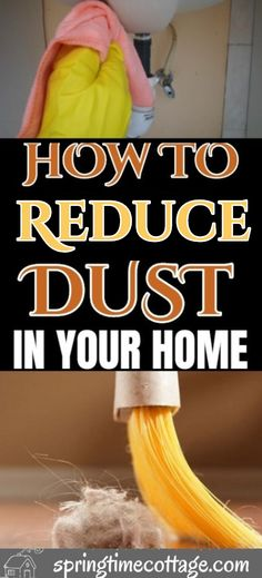 These are some valuable tips tricks and cleaning hacks to get rid of dust, dust mites and germs to make your home safer. hacks tips and tricks How to reduce dust in your home Household Cleaning Tips, House Cleaning Tips, Diy Cleaning Products, Cleaning Solutions, Deep Cleaning, Cleaning Hacks, Cleaning Dust, Borax Cleaning, Cleaning Schedules