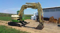 Yanmar B7 Midi Excavator Hydraulic Machine Diesel Rubber Tracked Hoe EROPS Cab