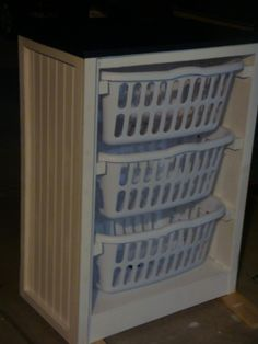 Laundry Basket Dresser | Do It Yourself Home Projects from Ana White