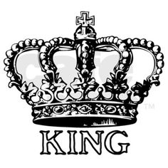 Crown and initial and date tattoo pinterest king tattoos king crown mousepad thecheapjerseys Image collections