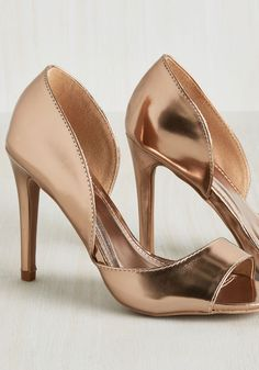 d'Orsay Can You See Heel. Your trick to a noticeable and noteworthy look? #gold…