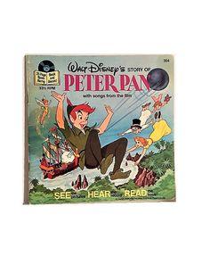 Peter Pan Vintage Walt Disney Illustrated Replacement Book #PeterPan #WaltDisney
