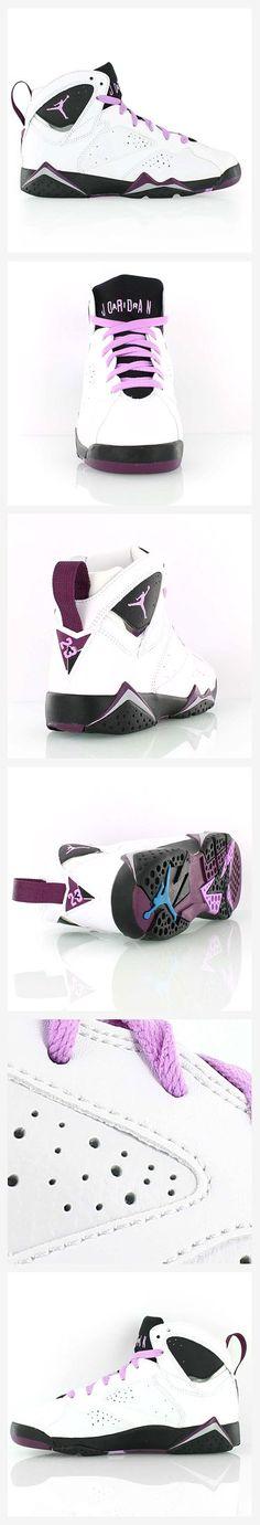 "Air Jordan 7 Retro GG ""Fuchsia"" Follow Pinterest  @destinedtobe97 for more S l a y i n  P i n s !"