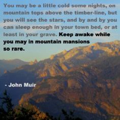 43 best ideas lost in nature quotes john muir Great Quotes, Quotes To Live By, Me Quotes, Inspirational Quotes, Camping Photography, Mountain Photography, Mountain Quotes, Mountain Trails, John Muir Quotes