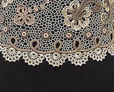 "Irish crochet &: Жакет ""Irish cream"" и кокетка с манжетами"