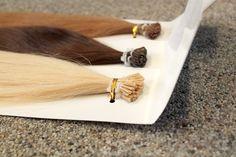 LUKSUS Cold Fusion hair extensions fra Myextensions. Totterne er 1 grams totter med I-tip. Find dem på www.myextensions.dk