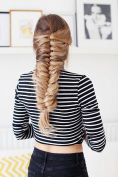 "Skeleton Braid is a new way to create a braid that's layered, complex and super beautiful. It's definitely the new ""IT BRAID"" in my books, because let's just sa"
