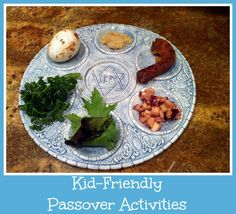Kid Friendly Passover Activities from SusieQTpies Cafe