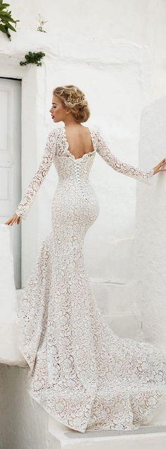 55 Most Loved Long Sleeve Wedding Dresses   Wedding Decor Ideas