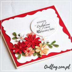 quilling, husking, greeting card, birthday, handmade, paperart, craft, anniversary, quilling.com.pl