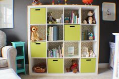 Store It Smart: Storage Ideas from Real Kids' Rooms - Really need storage for my baby's room