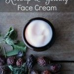 Rosehip & Ginseng Face Cream Recipe for Mature or Dry Skin